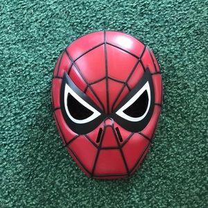Child's SpiderMan mask, EUC